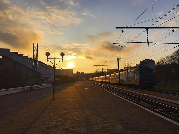 поїзд в Трускавець