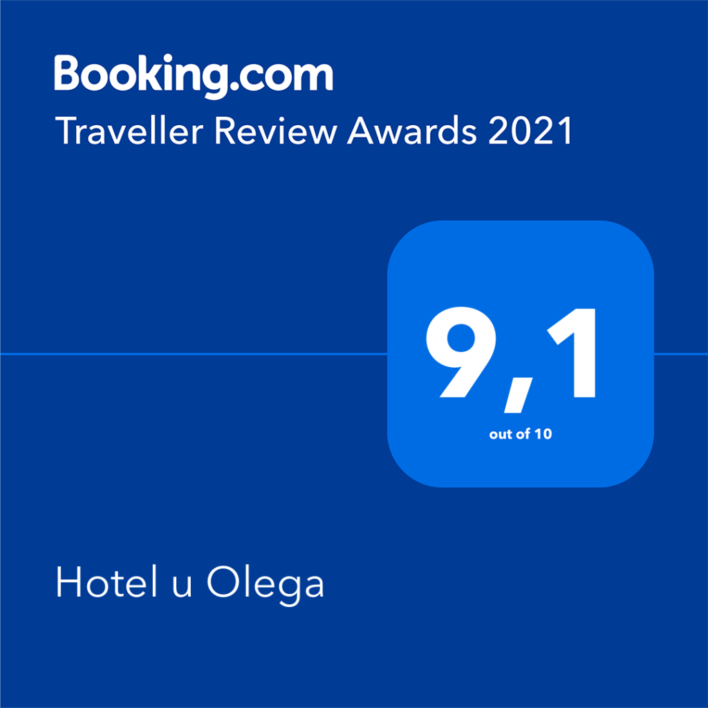 Нагорода від booking 2021